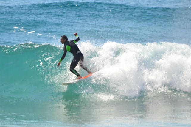 RINE(ライン)サーフィンスクール (下田市・白浜 サーフショップ・サーフィンスクール その他)の「【伊豆下田・サーフィンスクール・初心者】サーフィンの基礎と面白さが分かります!」の画像