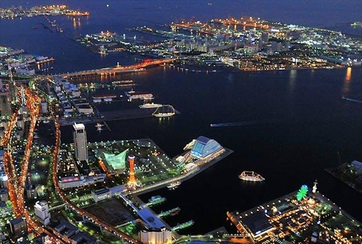 ヘリコプター遊覧・約10分】神戸ベイエリアの夜景を満喫!ロング遊覧 ...