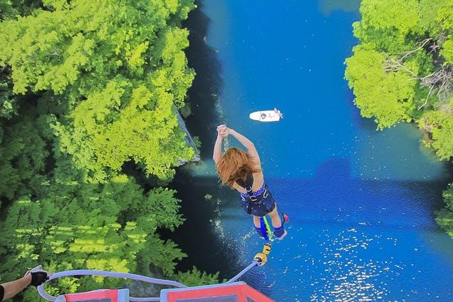 【初めての方限定】群馬・水上・バンジージャンプ(高さ最大62mのブリッジバンジー)|アソビュー!