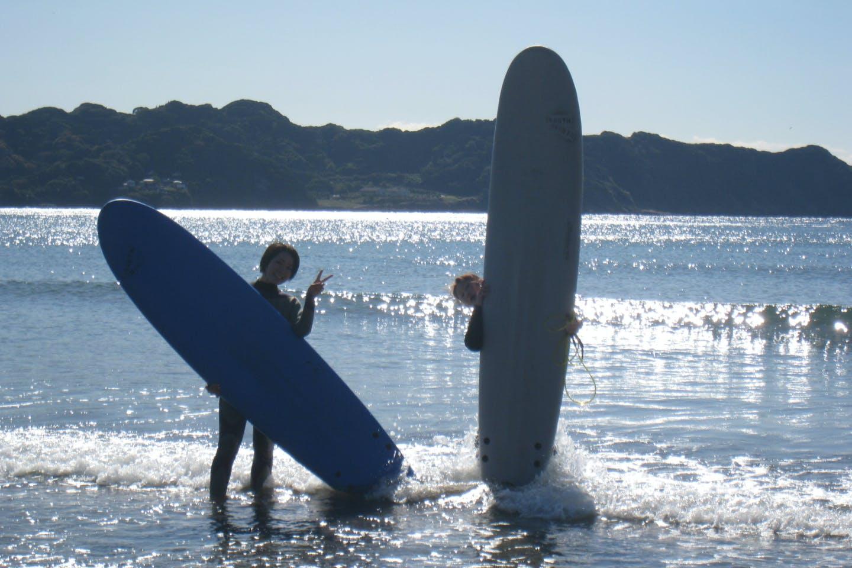 Umi to Yama SUPスクール (鋸南町(安房郡) サーフィン体験)の「【千葉・南房総・サーフィン】公認プロが指導!サーフィン体験」の画像