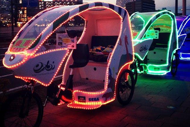 ベロタクシー・自転車タクシー