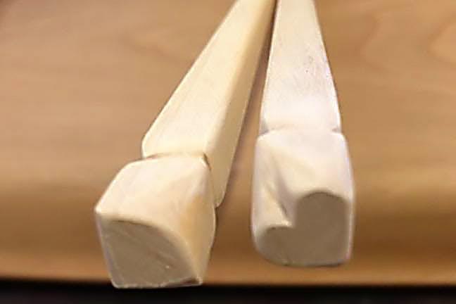 甲信越の箸作り体験