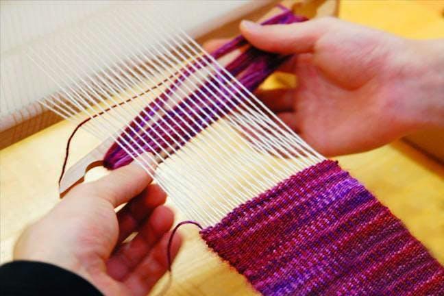 輪島・能登の機織り体験・機織り教室