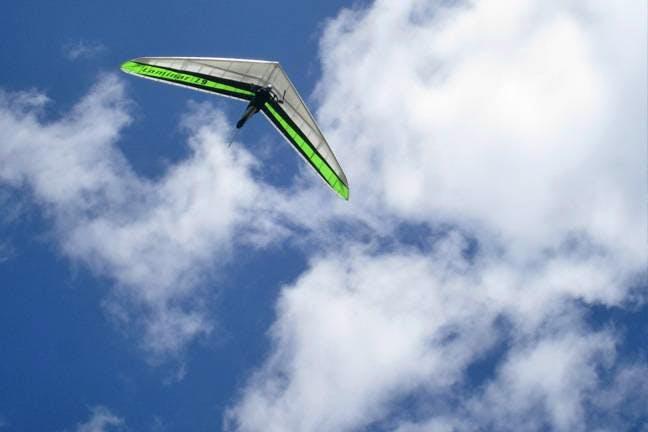山中湖・忍野のハンググライダー