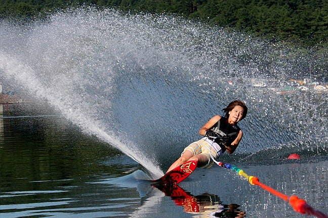 山梨県の水上スキー