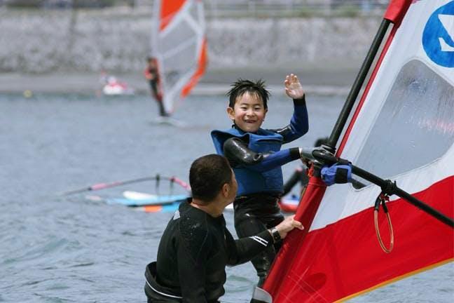 静岡・清水のウインドサーフィン
