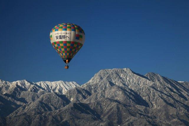 栃木県の熱気球