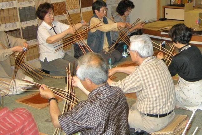 鳥取県の竹細工