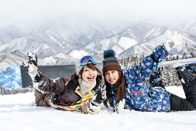 長野県のスノーボードレンタル