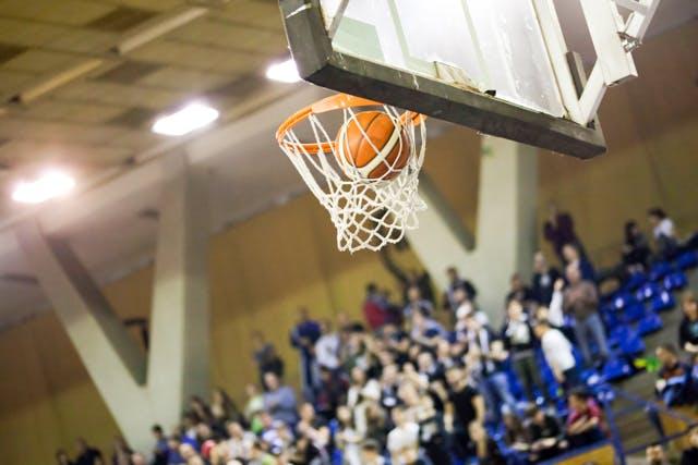 バスケットボール観戦