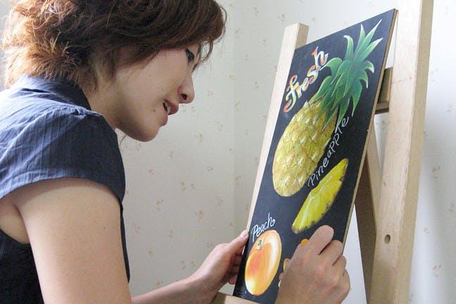 奈良県のチョークアート