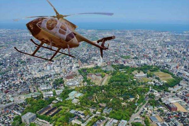 大阪府のヘリコプター遊覧