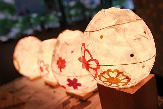 河原町・烏丸・大宮周辺の手作りランプ・照明
