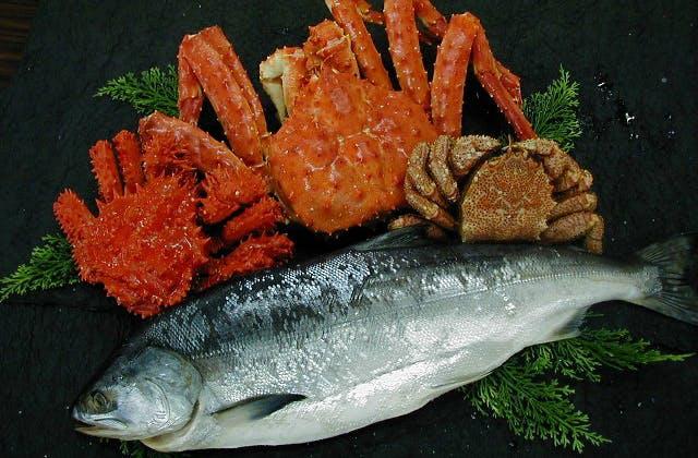 釧路港の海産物