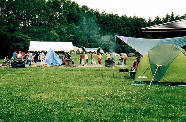 江別市森林キャンプ場