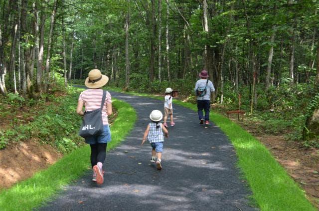 くるみなの散歩道(当麻山ハイキングコース)