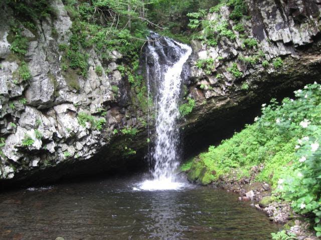 パンケの滝(夏)
