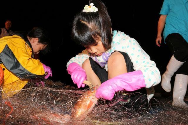 津軽海峡メバル網外し体験ツアー