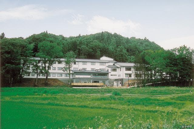千貫石温泉 湯元東館 外観