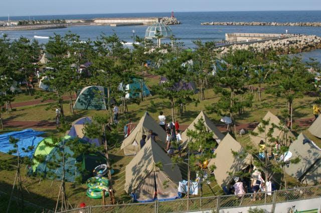 種市海浜公園キャンプ場