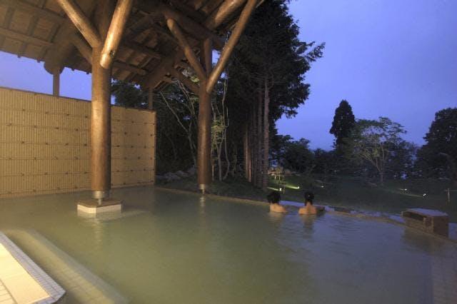 十和田プリンスホテル露天風呂
