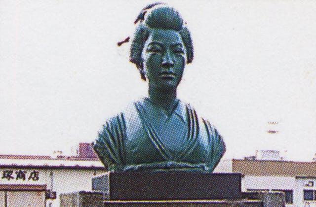 田沢稲舟碑