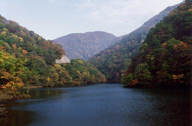 木地山ダム湖