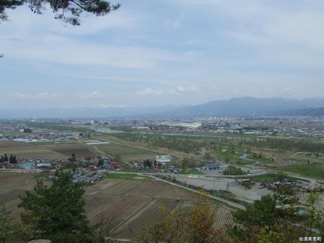 白鳳山からの景観