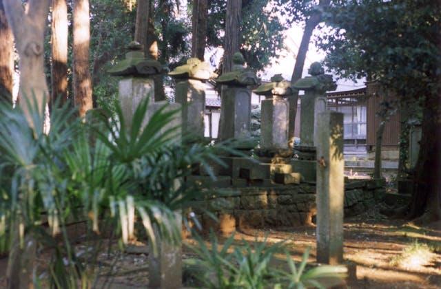 新田義貞一族の墓
