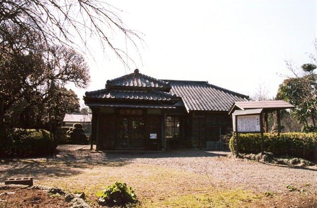 小川芋銭の生家