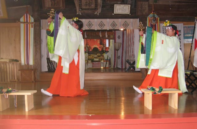 化蘇沼稲荷神社夏祭り