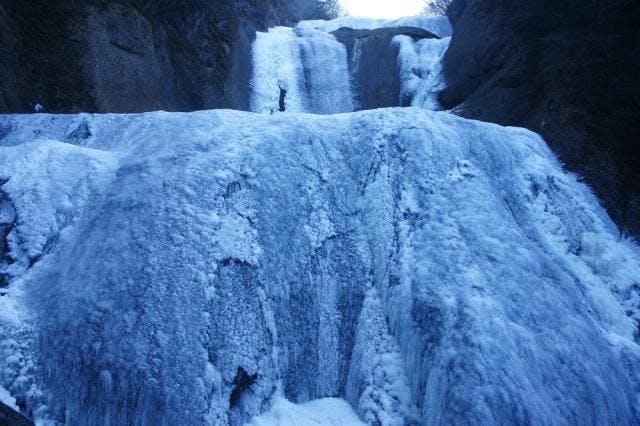 袋田の滝(氷瀑)