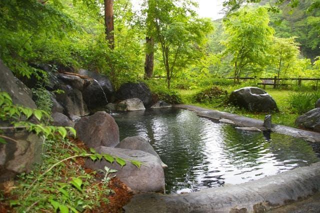 川俣温泉(渓山荘露天)
