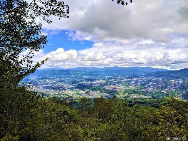 山頂からの眺望