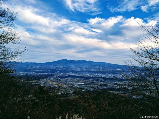 河内神社からの眺望