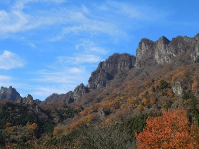 妙義山(秋)