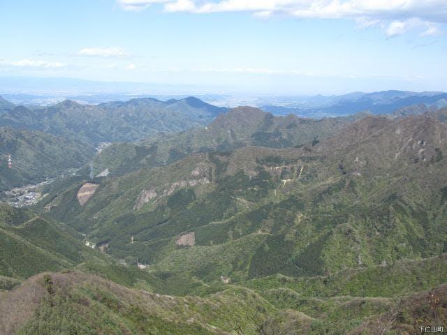 艫(とも)岩から東側の展望