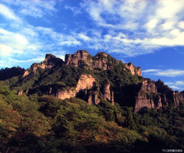 妙義山(金洞山)全景