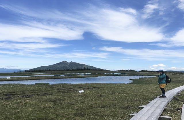 アヤメ平からの燧ケ岳