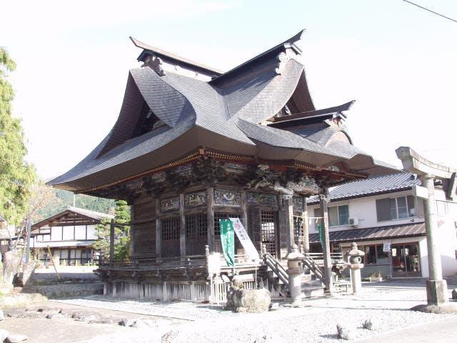 武尊神社(大字川場湯原)