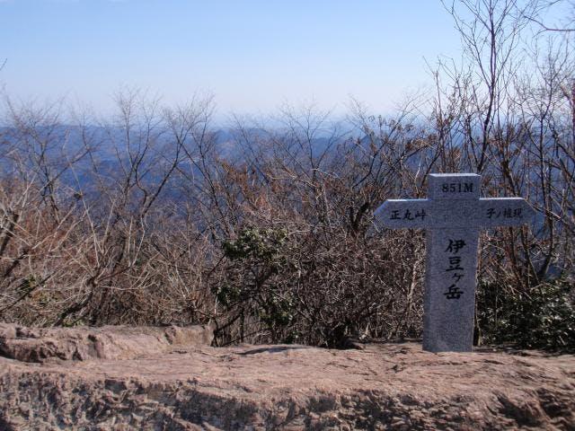 伊豆ヶ岳山頂