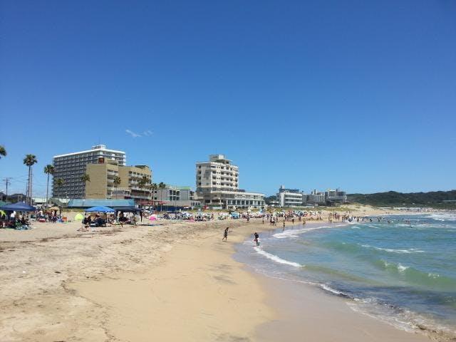 浜海水浴場