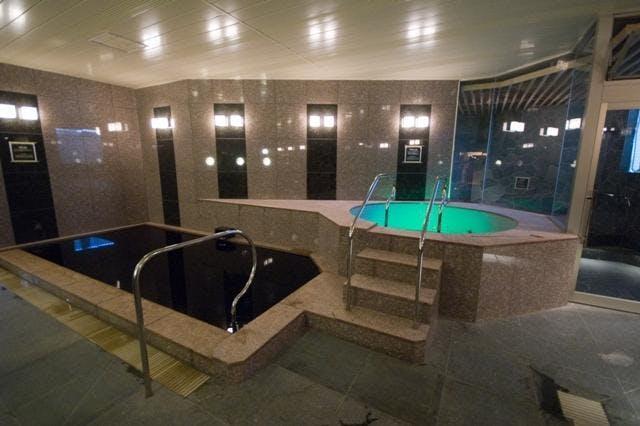 SPA&HOTEL和 浴室