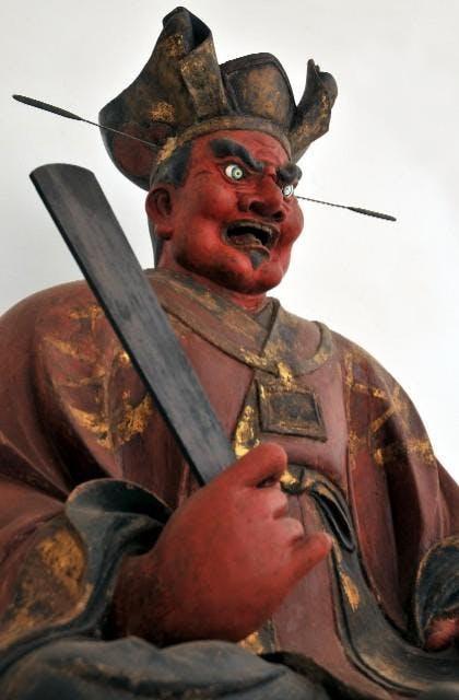 木造閻魔王坐像