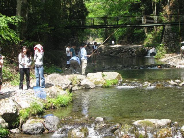 大丹波川国際マス釣場