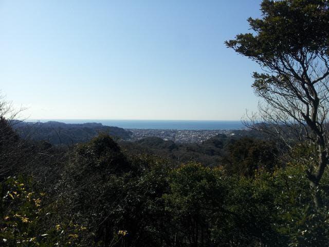 十王岩からの眺め