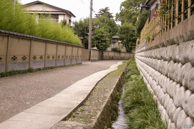 鈴鹿・長宿の街並み
