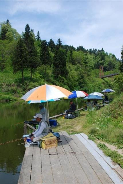 下条川ダム・釣り2