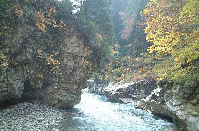 猿飛峡(秋)