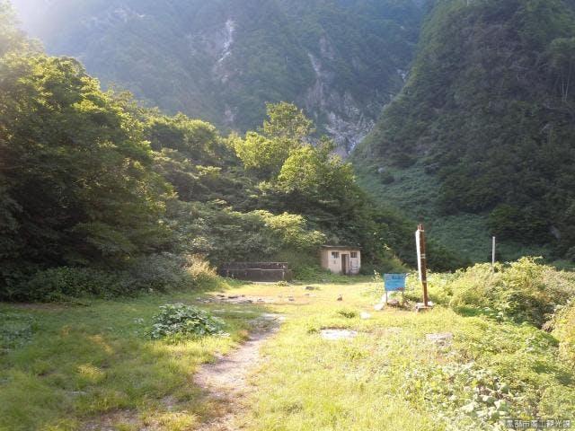 阿曽原キャンプ場